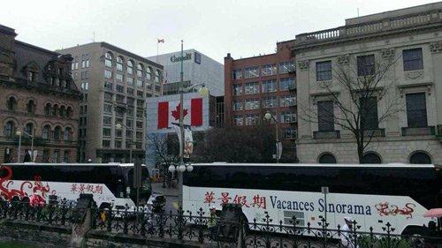 Tour tham quan Canada bằng xe buýt Sinorama là lựa chọn hợp lý về chi phí