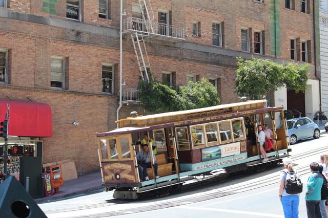Xe cable car ra đời vào năm 1873