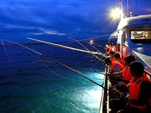 Câu mực đêm cùng ngư dân ở Mũi Né