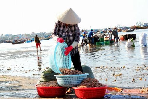 Chợ làng chài ở Mũi Né