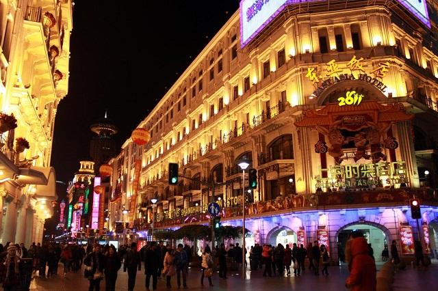 """Kết quả hình ảnh cho Phố Nam Kinh - """"thiên đường mua sắm"""""""