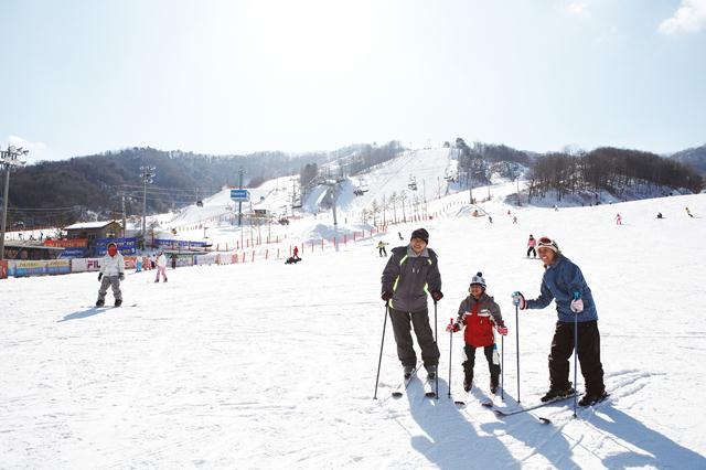 Trượt tuyết là hoạt động thú vị vào mùa đông