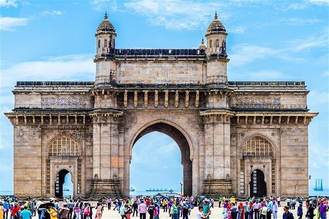 Khải hoàn môn ở Mumbai - Ấn Độ
