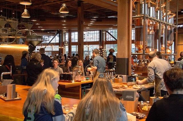 Starbuck – thương hiệu cafe nổi tiếng nhất Hoa Kỳ ở Seattle