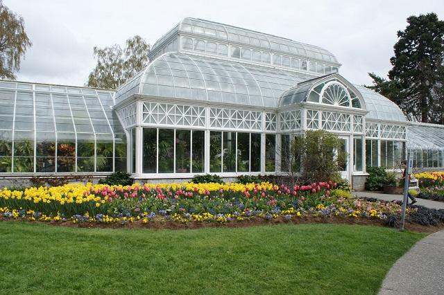 Volunteer Park Conservatory khu vườn trong nhà kính nổi tiếng ở Seattle