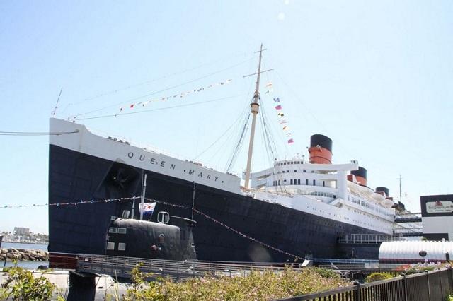 Triển lãm về hiện vật và ảnh của tàu Titanic được diễn ra trên tàu Queen Mary