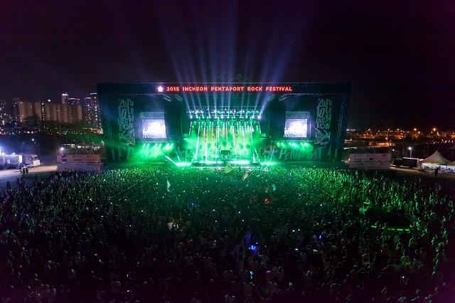 Lễ Hội Nhạc Rock Pentaport Incheon, một trong những sự kiện nổi bật nhất trong tháng 8 ở xứ Hàn