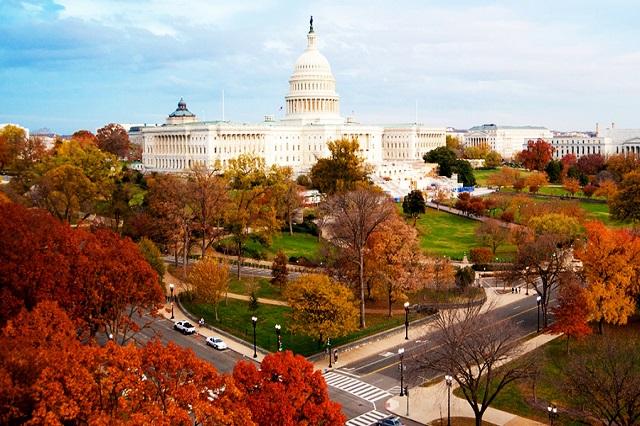 Vẻ đẹp sắc màu ở Điện Capitol