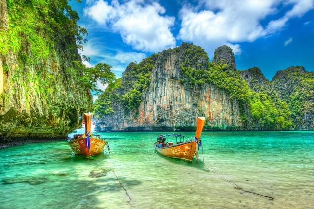 Hòn đảo đẹp không góc chết - Phi Phi Leh