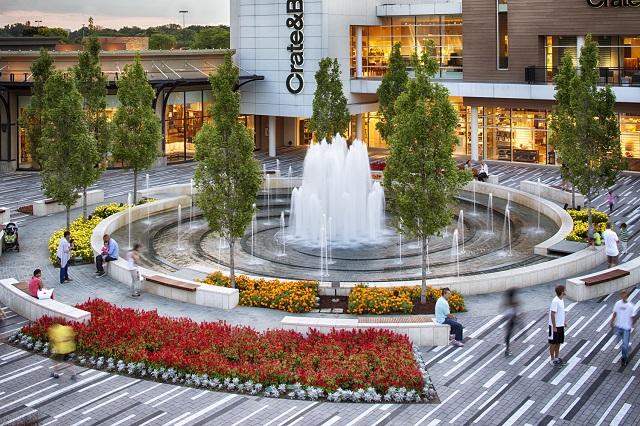 Khuôn viên hoành tráng và vô cùng đẹp mắt của trung tâm Brook Oak