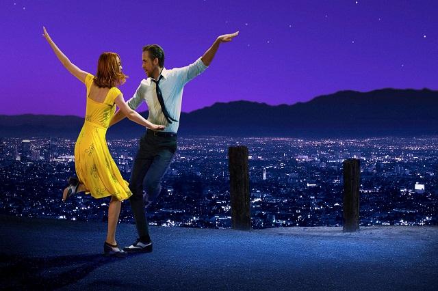 Griffith Park là nơi xuất hiện trong phim với giai điệu A Lovely Night dưới ánh hoàng hôn