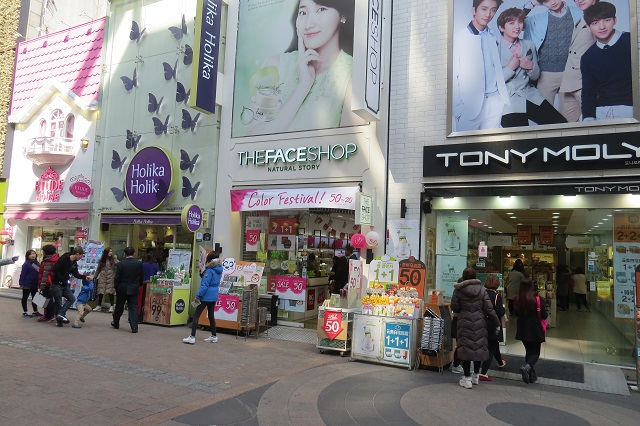 Seoul chính là thiên đường mua sắm mỹ phẩm của phái đẹp