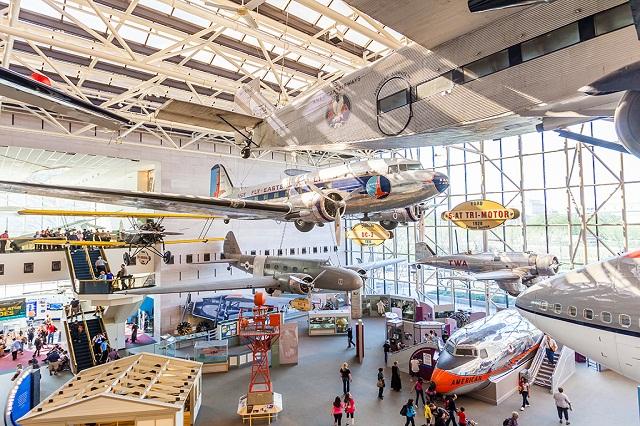 Bảo tàng là thiên đường dành cho những người say mê về ngành hàng không