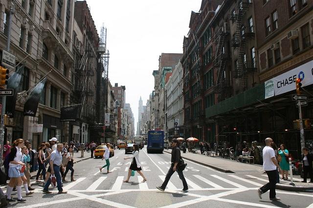 Soho là trung tâm mua sắm hàng đầu ở New York