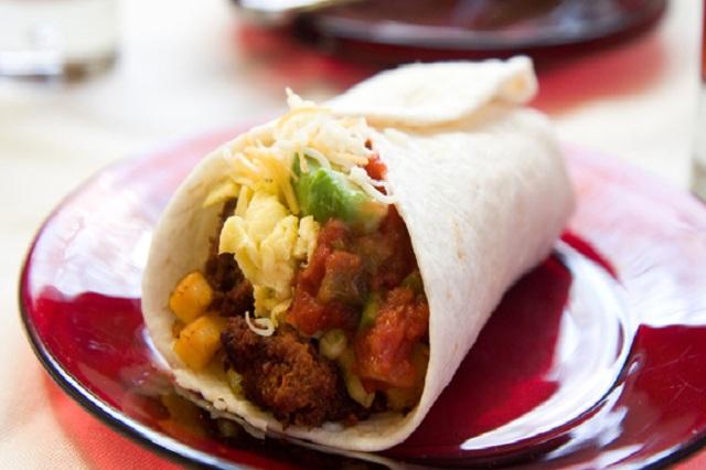 Burrito – món ăn hút hồn mọi du khách