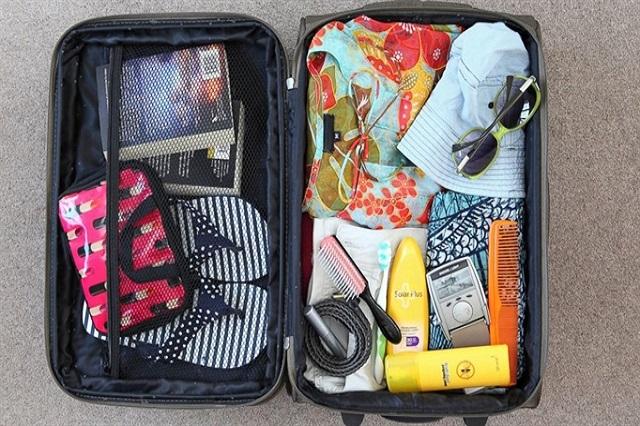 Kiểm tra, sắp xếp hành lý thật ký trước chuyến đi