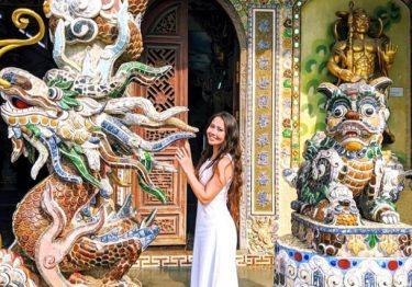 Những ngôi chùa hút khách dịp Tết ở Việt Nam