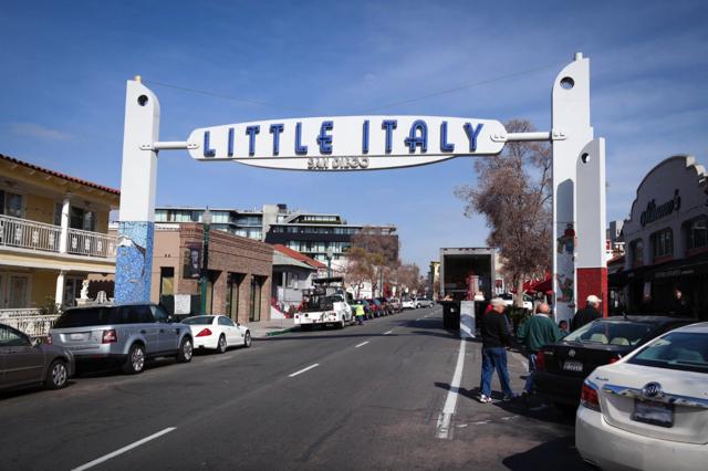 Little Italy là khu phố đậm chất Ý nổi tiếng ở San Diego